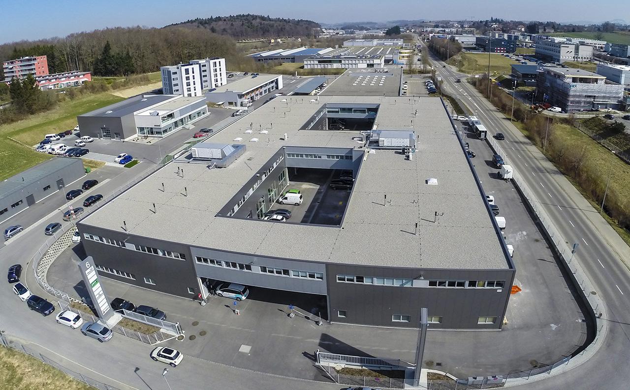 Bureaux et locaux dans la Zone Industrielle de Corminboeuf